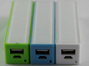 Cargador portátil 2600mAh, Power bank, acumulador de energía, banco de energía.