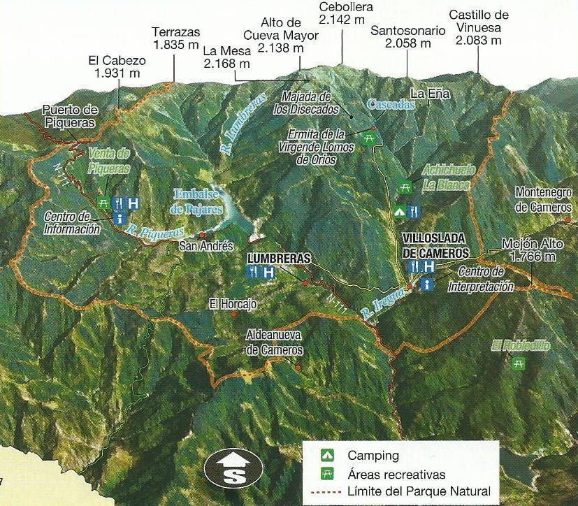 Sierra de Cebollera, hayas y rebaños.