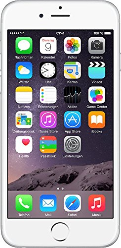 Apple iPhone 6 libre, color plata