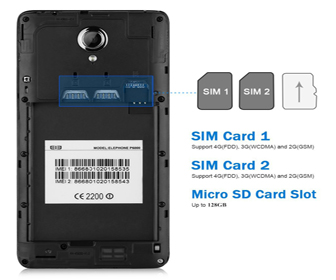 elephone p6000 pro smartphone 4g