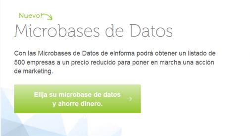 elija su micro base de datos y ahorre dinero