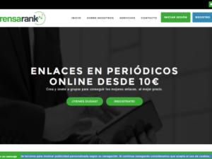 Post patrocinados en prensa,PrensaRank