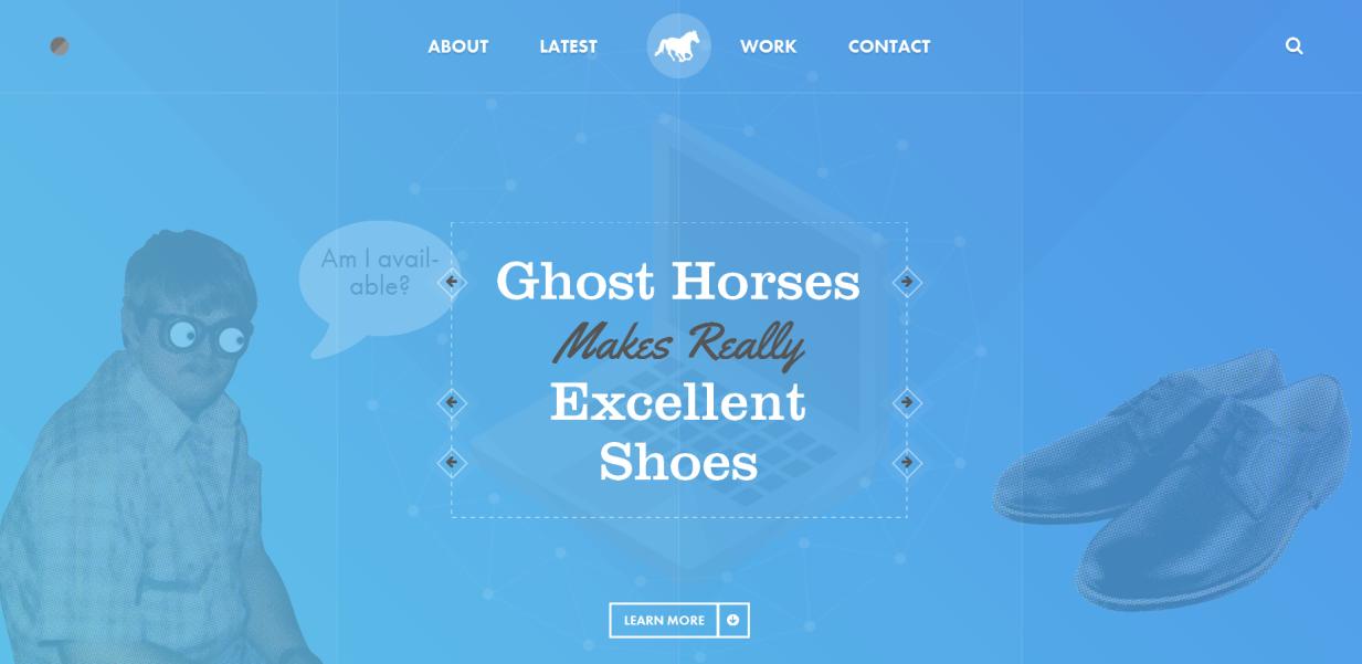 diseño web ghosthorses