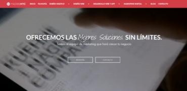 diseño web aplicado a wordpress madridnyc