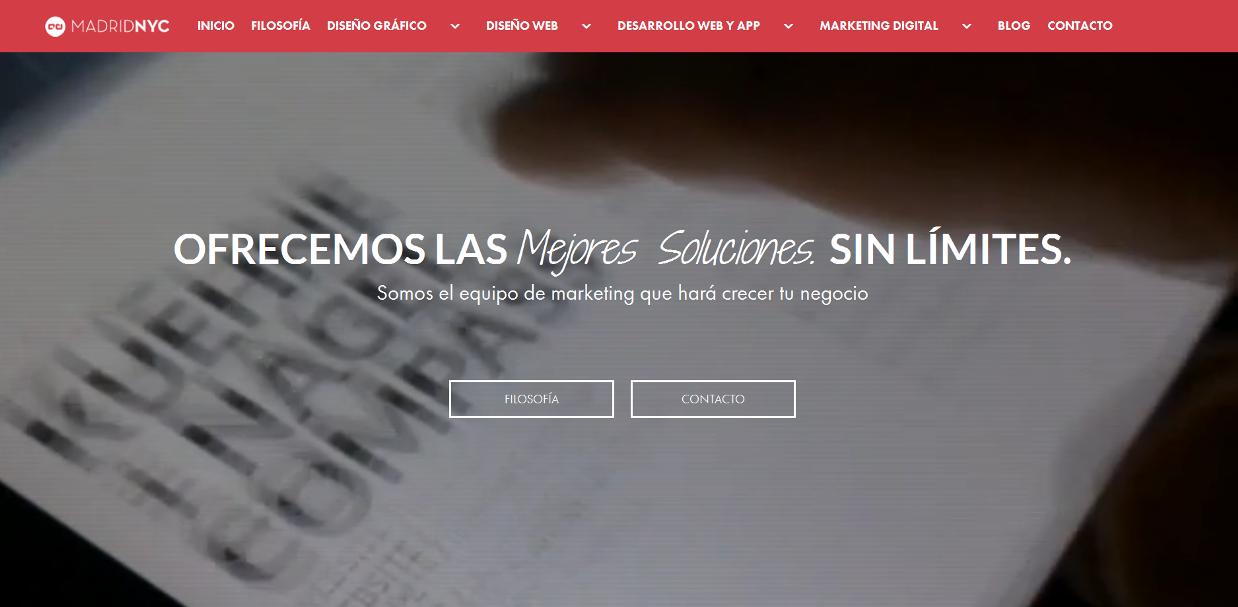 diseño web madridnyc