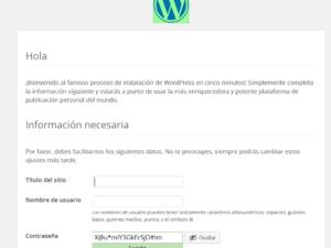Instalar WordPress en hosting, parte II