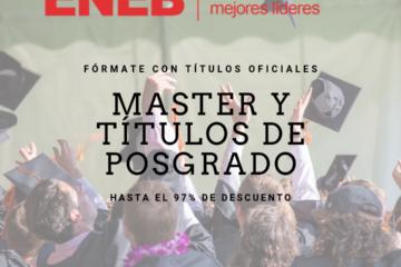 Descuento 97% master oficial ENEB